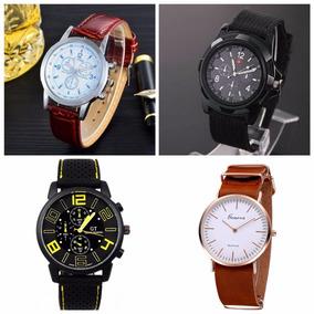 Lote De 10 Relojes Hombre Casual Sport Militar Envio Gratis