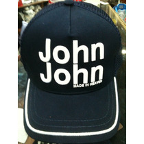 Boné John John Denim* Emborrachado Original Finally Itals