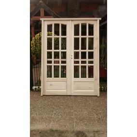 puerta doble hoja aberturas puertas de abrir en mercado