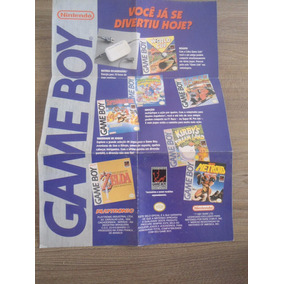 Miniposter Game Boy - Gradiente Playtronic Original Nintendo