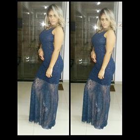Vestido Sereia Longo Em Renda, Festa, Madrinha, Casamento