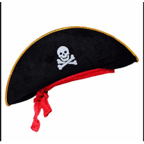 Disfraz Sombrero Pirata Fiesta Temática Piratas Envío Gratis