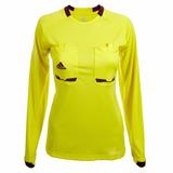 Camiseta adidas Arbitro, Talla L, Amarillo, Mujer, Nueva