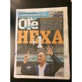 Diario Ole 9/7/14 Alemania 7 - Brasil 1