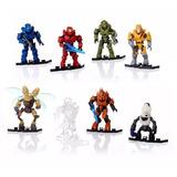 Mega Bloks Halo Sobre Foxtrot Figura Arma Y Base 3x$130