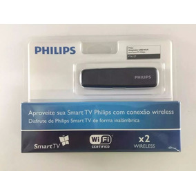 Adaptador Wireless Usb P/ Tvs Philips, Wi-fi, Sem Fio Pta127