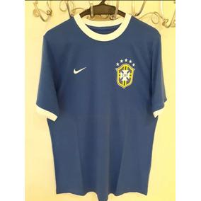 0b1c590aba Camiseta Cbf Azul - Camisetas e Blusas no Mercado Livre Brasil