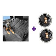 Combo 3 Forros Protectores Sillas Carro Auto Mascota Perro
