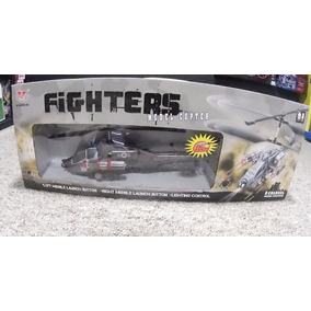 Helicoptero Real Fighters A Control Remoto Grande