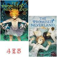 The Promised Neverland 4 E 5! Mangá Panini! Novo E Lacrado!