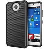 Microsoft Lumia 650 Forro Doble Cubierta Armor Balístico
