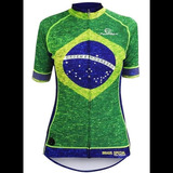 d947930be7 Camisa Verde Fluorescente Brasil - Ciclismo no Mercado Livre Brasil