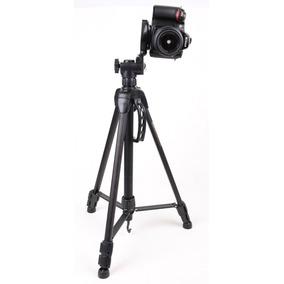 Trípode Semiprofesional 1.65mts Soporta 3kg P/canon Nikon
