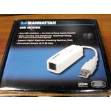 Fax Modem Manhattan Usb 56k Mod. 154109 (remate)