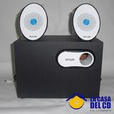 Cornetas Delux 110v Multimedia Speaker 2.1 M/dls-x518