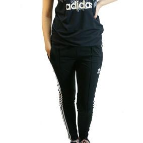 Pantalon adidas Originals Acetato Negro Dama Deporfan