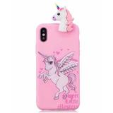 Funda De Silicona Para Iphone 6, 7, 8 Y Plus De Unicornio