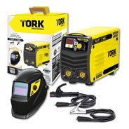 Kit Inversora De Solda Tork Kab180 + Máscara Msea 901 220v