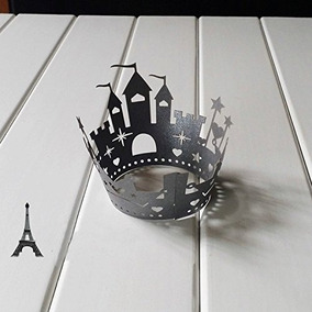 Ditop¿ Pack De 25 Castillo De Pastel De Halloween Laser Cut
