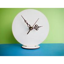 Base Para Sublimar 20 Cm Mas Maquina De Reloj