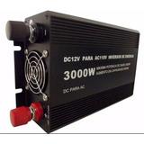 Inversor Veicular Automotivo 3000w 12v- 110v C/ 2 Tomadas