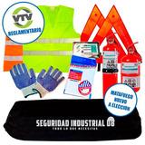 Kit De Seguridad Automotor 7 En 1 Reglamentario Vtv