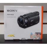 Filmadora Sony Fdr Ax33 4k Full Hd Nuevo En Caja