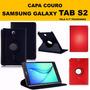 Capa Couro Premium 360 Tablet Samsung Galaxy Tab S2 Tela 9.7