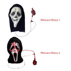 Máscara Pânico Sangue Falso, Festa, Divertida, Clássica!!