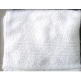 Toalla De Mano 100% Algodón 43x27cm Blanco