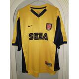 Jersey Arsenal De Inglaterra Año 1999-2000 Nike Talla L-gde.