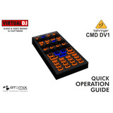 Controlador Dj , Cmd Dv1 Para Virtual Dj , Super Oferta!!!!