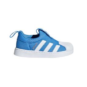 Zapatillas adidas Originals Moda Superstar 360 I Bebe Fr/bl