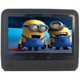 Par Encosto Cabeça Dvd Acoplável 9 Polegadas Tv Digital