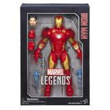 Boneco Marvel Legends Coleção Homem De Ferro Iron Man Hasbro