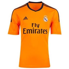 Jersey adidas Real Madrid 100% Original 2013 D Gala Naranja