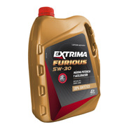 Lubricante 100% Sintético Extrima Furious 5w30 4lts