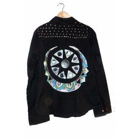 Original Camisa Pintada Con Tachas!!!