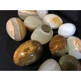 Piedra Onix Con Forma De Huevo Grandes C/u