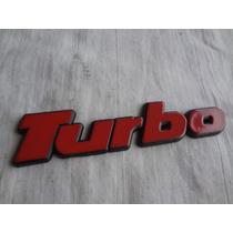 Emblema Turbo Gol Parati Voyage Santana Gti Gt Gts Peça Nova