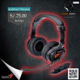 Audífono Gamer Genius Hs G500v C/ Vibracion