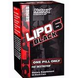 Kit Com 2 Lipo 6 Black - Nutrex - Importado - Envio Imediato
