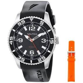 Reloj Nautica Wnuat1103 Negro Masculino
