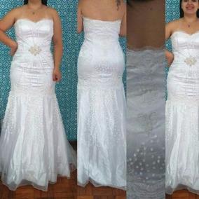 Vestido De Noiva Sereia Importado C Saiote Barato