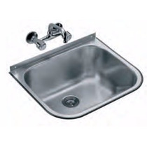 Pileta lavadero encastrable 420 le bachas de cocina en for Lavadero acero inox