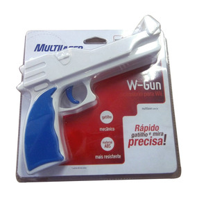 Pistola Arma Revolver Para Nintendo Wii W-gun Multilaser