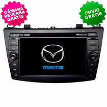 Autoestereo Navegador Gps Mazda 3 Pantalla Bluetooth Dvd Usb