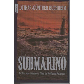 Livro Submarino Lothar-günther Buchheim