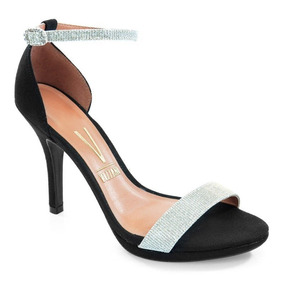 1244c71a2 Sandalia Lilas De Salto Prata Vizzano! Tamancos - Sapatos no Mercado ...