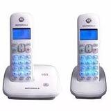 Telefone Sem Fio C/ Ramal Motorola Auri 3500 Dect 6.0 Branco